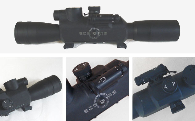 Scrome Military double focal sights